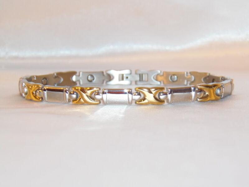 Magnetic Power Bracelet NEG Ion BalanceTitanium Embedded Scalar Energy  002