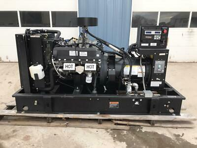 60 Kw Generac Generator Set 12 Lead Reconnectable 120240 Volts Low Hours