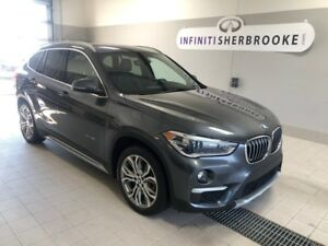 2016 BMW X1 XDrive28i+NAVI+TOIT PANO+ M PACK NEVER ACCIDENTED