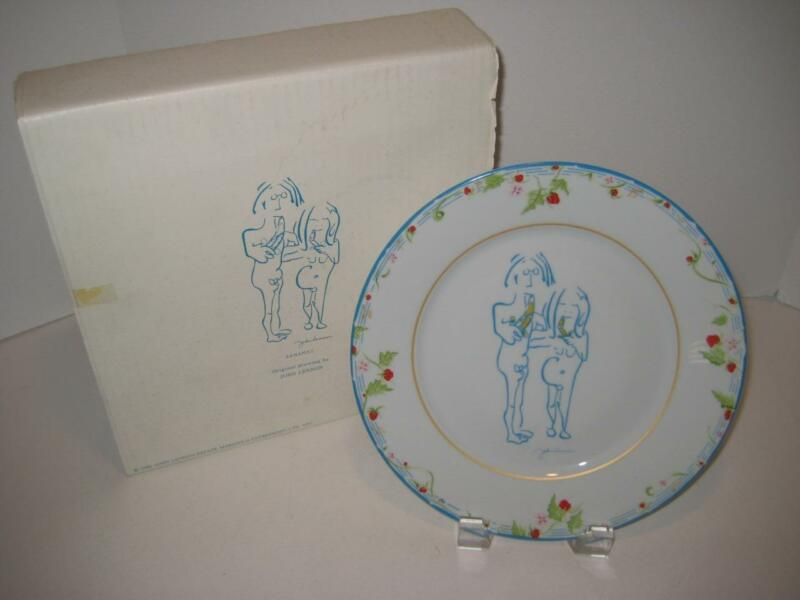 "Rare John Lennon ~ ""Bananas"" ~ Collector Plate ~ Limoges France ~ 1987"