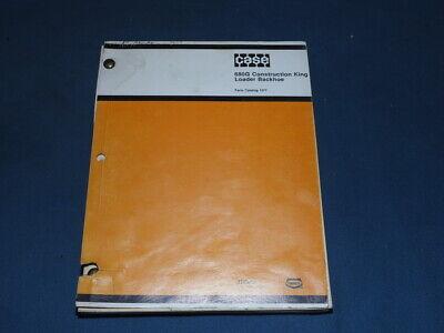 Case Parts Manual 680g Construction King Loader Backhoe