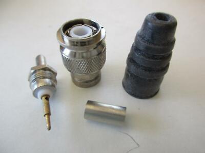 Amphenol Connector 31-2351 Tnc Crimp Cable Mount Male Plug 50 Rg58141 Coax