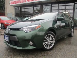 2015 Toyota Corolla LE-BACK UP CAMERA-SUNROOF-BUETOOTH-HEATED SE