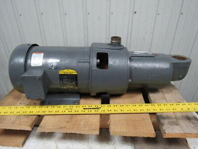 2hp Positive Displacement Progressive Cavity Pump 208230440v 3ph 1725rpm