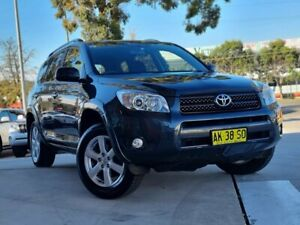 2006 Toyota RAV4 ACA33R Cruiser Black 4 Speed Automatic Wagon Castle Hill The Hills District Preview