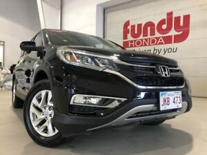 2015 Honda CR-V EX-L w/leather and power seats ONE LOCAL OWNER