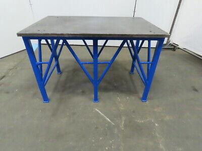 1 Blanchard Ground Steel Fabrication Layout Welding Table Machine Base 44x29