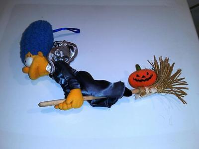 MARGE SIMPSON Halloween Stuffed Doll OOAK Applause Prototype Witch SAMPLE](Marge Simpson Halloween)