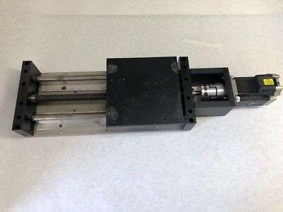 Positioning Table Ballscrew Linear Slide Stroke 6.5 W Mdrive 23 Stepper Motor