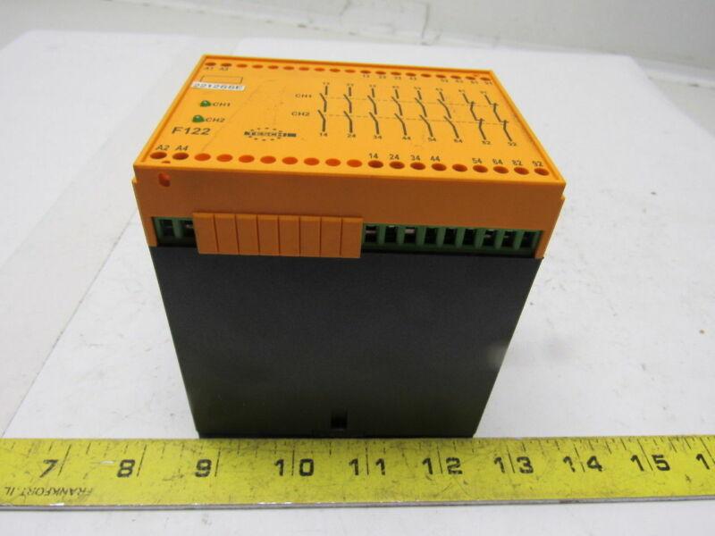 Tesch Type F122x04 24VAC/DC Safety Relay