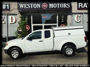 2014 Nissan Frontier S*BLUETOOTH*TRUCK CAP*READY FOR WORK!!*