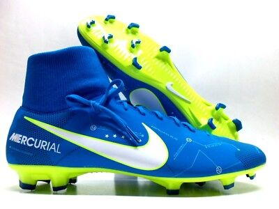 NIKE MERCURIAL VICTORY VI DF NJR FG NEYMAR BLUE ORBIT SIZE MEN 8.5 [921506-400]