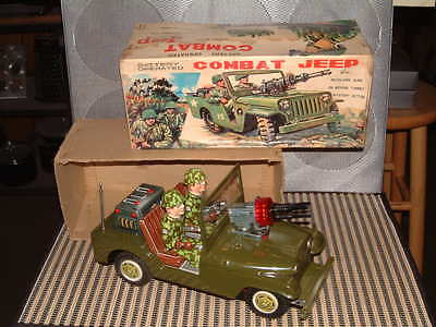 Nomura Combat Jeep  Battery Operated 100  Fully Operational With Original Box