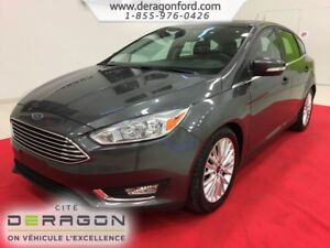 2016 Ford Focus TITANIUM CUIR TOIT OUVRANT CAMERA SONY 5PORTES T