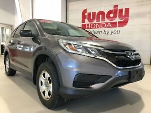 2015 Honda CR-V LX w/heated front seats, $170.13 B/W ONE OWNER,
