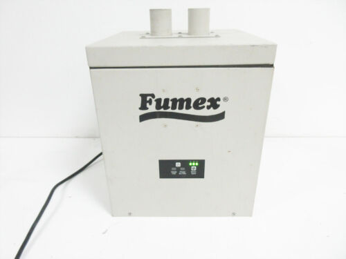 """FUMEX FA1-M FA1 MINI LASER PRINTING FUME EXTRACTOR / AIR CLEANER ~ 2X 2"""" INLET"""