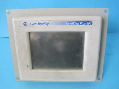 Allen Bradley Ab 2711p-t6c20d Panelview Plus 600 Series A Rev B Touch Screen