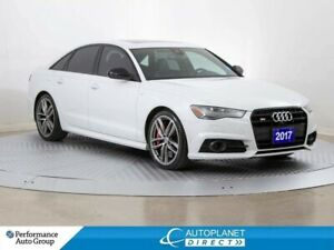 2017 Audi S6 Quattro, Tech Pkg, Navi, Sunroof, Back Up Cam!