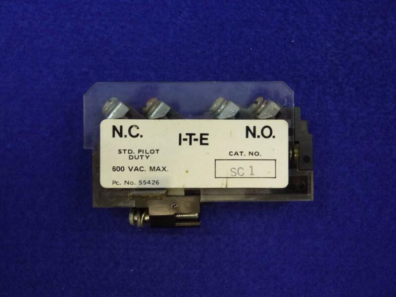 ITE SC-1 Safety Switch Aux Contact