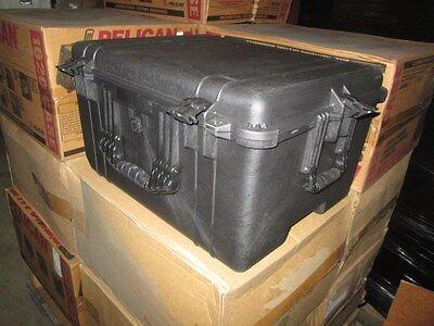 25x20x14 Od 21x16x12 Id Pelican 1620 Black Hard Transit Shipping Case Nib Ata