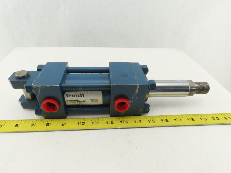 """Rexroth FC-C-1822556122 Hydraulic Cylinder 2"""" Bore 1-3/4"""" Stroke Double Action"""