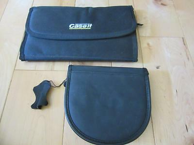 TWO BLACK CD CARRY CASE HOLDS 24 AND 12 ONE IS VELCRO ONE IS ZIPPER (Case Holds One Cd)