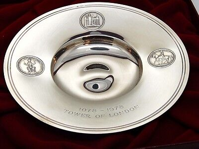 Antique Silver Salver dish Limited edition.London 1978 – St James House Company