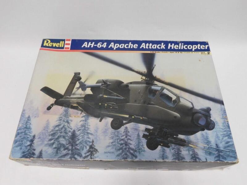 1/32 Monogram Revell AH-64 Apache Attack Helicopter Plastic Scale Model Kit 4575