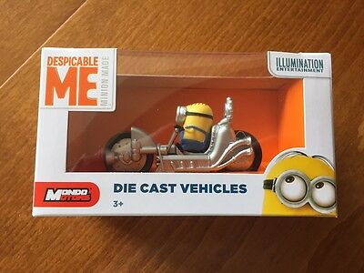 Die Minion Stuart (Despicable Me Minion Die-Cast Car - Stuart & Dragster - New & Boxed)