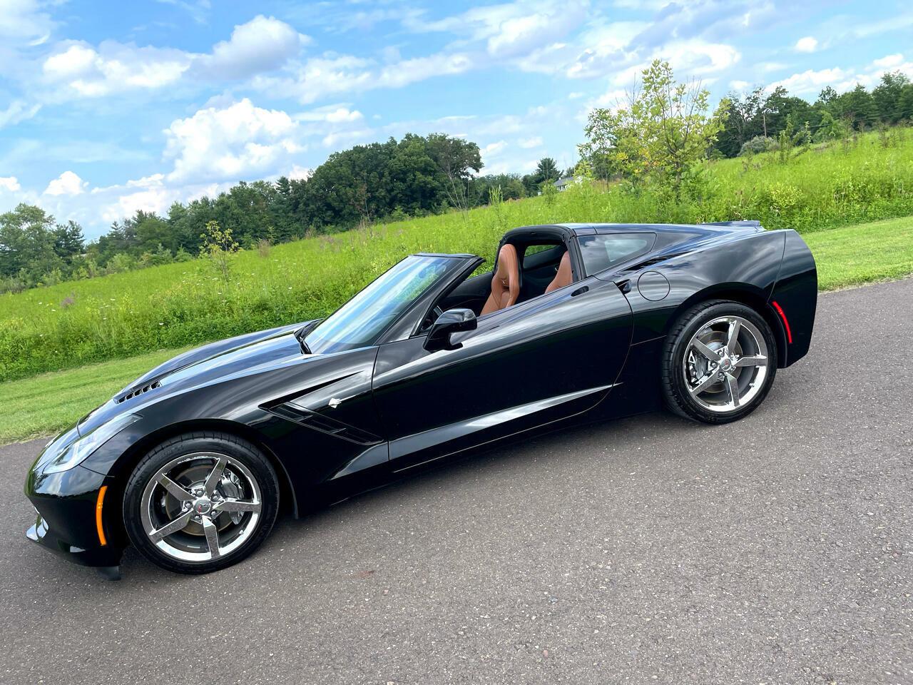 2014 Black Chevrolet Corvette Coupe 3LT | C7 Corvette Photo 5