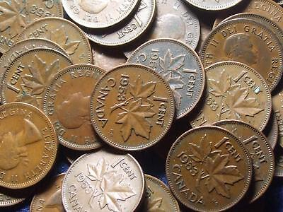 1953 CANADIAN SMALL CENTS QUEEN ELIZABETH II       BUY ONE OR BUY THEM ALL