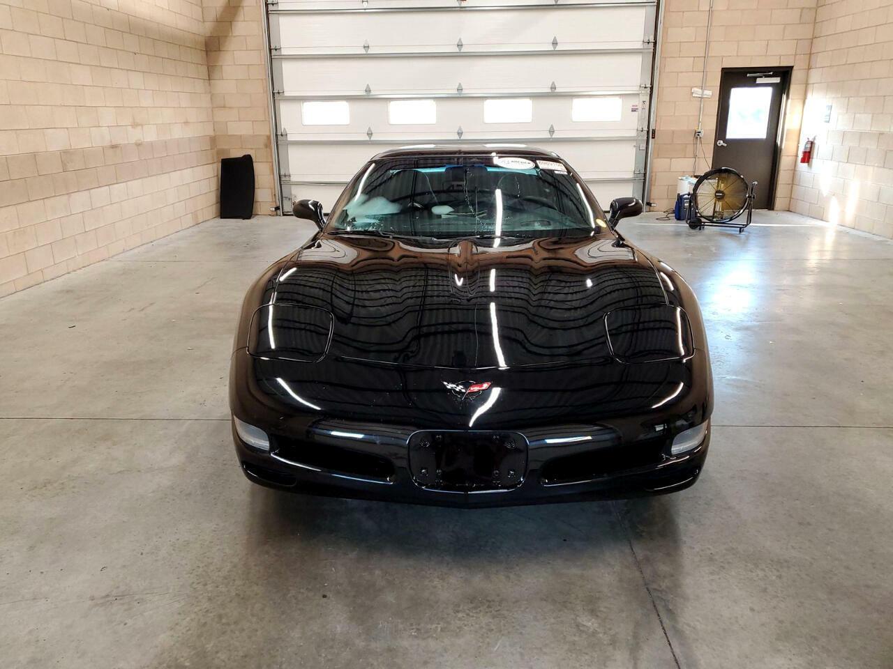 2004 Black Chevrolet Corvette Coupe  | C5 Corvette Photo 2