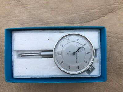 Machinist Jeweled Dial Indicator Gauge Gage Japan 1 Range .001 Resolution Mint
