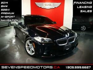 2014 BMW 5 Series 528XI M-SPORT | NAVI | PREMIUM | FINANCE @4.65