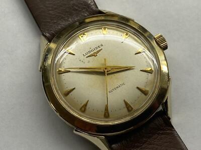 Men's Vintage Longines Watch, 17J Automatic Cal.19AS,  10K YGF Case, SERVICED
