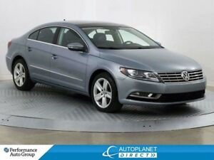 2013 Volkswagen CC Sportline, Back Up Cam, Sunroof, Heated Seats