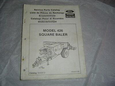 Ford New Holland 426 Square Baler Service Parts Catalog Manual Book