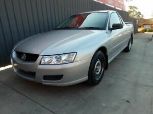 2006 Holden Ute VZ MY06 Silver 4 Speed Automatic Utility Blair Athol Port Adelaide Area Preview