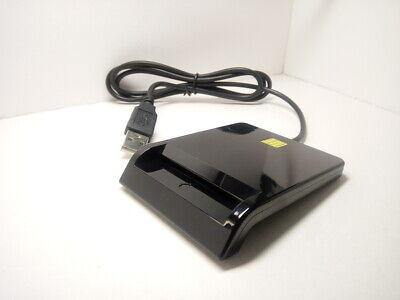 Usb Smart Card Reader Ic Chip Atm Credit Debit Pci Compliant Dnie Cac Id Sim Pos