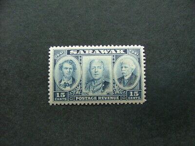 Sarawak 1946 Centenary 15c blue SG147 UM/MNH
