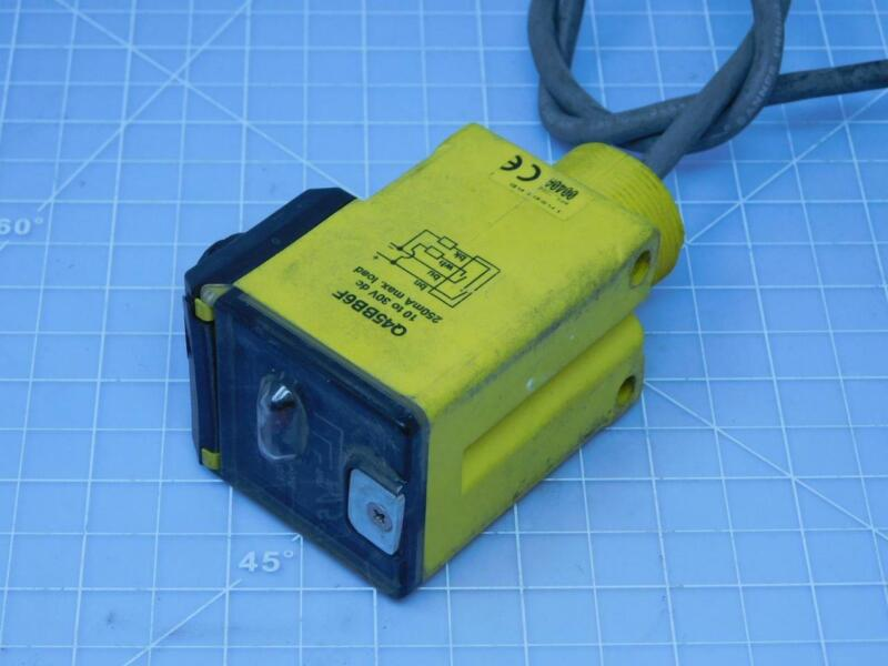 Banner Q45BB6F Fiber Optic Photoelectric Sensor T147060