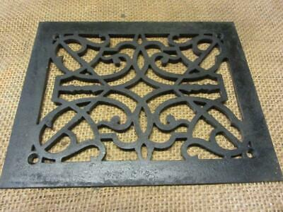 Vintage Cast Iron Register Grate > Antique Old Hardware Architectural 6962