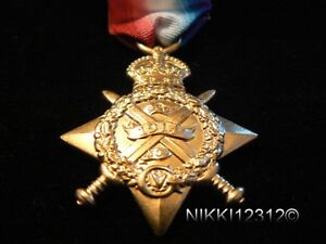 FULL-SIZE-BRITISH-WW1-1914-MONS-STAR-REPLACEMENT-COPY-MEDAL