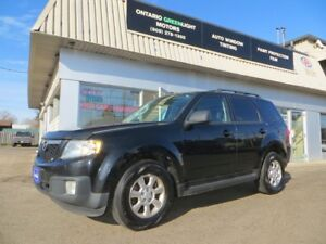 2010 Mazda Tribute Limited6cyl,AWD,LEATHER ,Sunroof,Back up Came