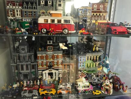 Lego Glass Display Cabinet