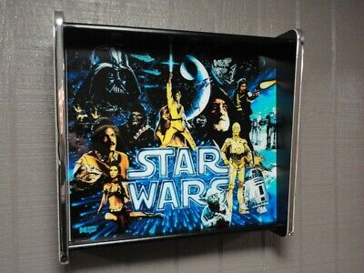 Star Wars Data East Pinball LED Backglass Display light box