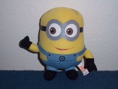 MINION PLUSH TOY FROM DESPICABLE ME 2 - 6 INCHES - Minion From Despicable Me
