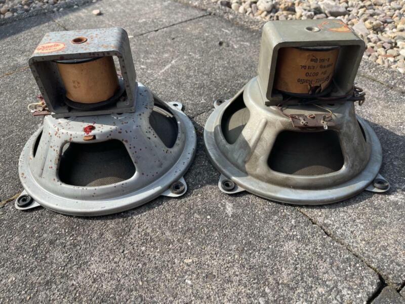 """8"""" GRAETZ Vintage field coil speaker vintage driver German audio full range"""