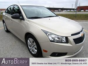 2012 Chevrolet Cruze LS **CERTIFIED ACCIDENT FREE 1 OWNER**