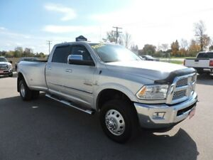 2016 RAM 3500 Laramie. Diesel. Leather. Navigation.